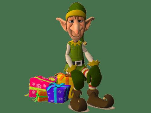 Elf-with-presents