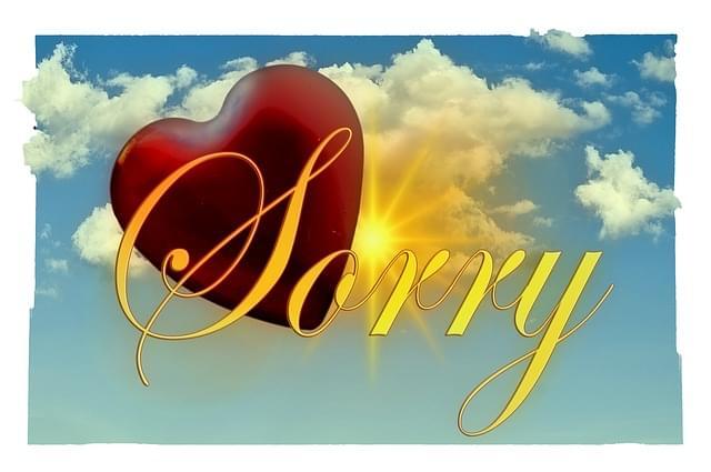 sacred apology